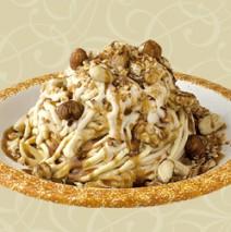 Spaghetti Eis Carbonara